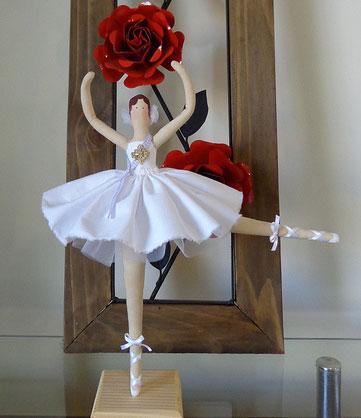 Выкройка балерины, мастер класс.