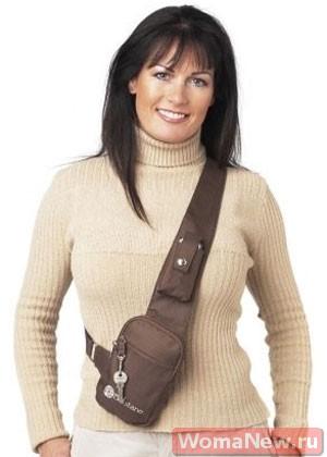 выкройка сумки через плечо