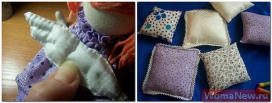 горошина и подушки для принцессы