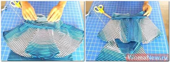 как сшить стильную юбку