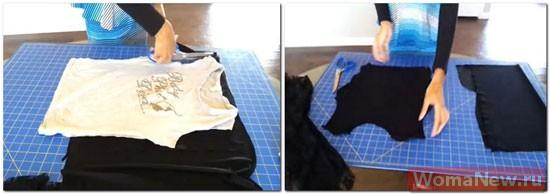 как сшить с баской блузу