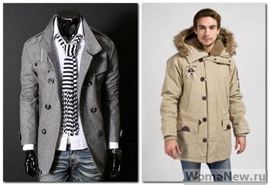 пальто для мужчин