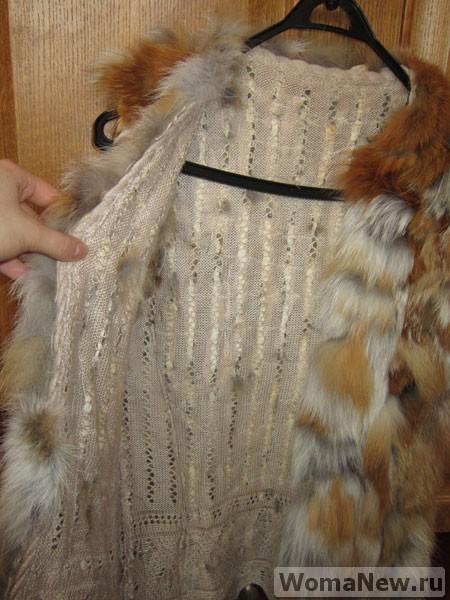 шить меховой жилет
