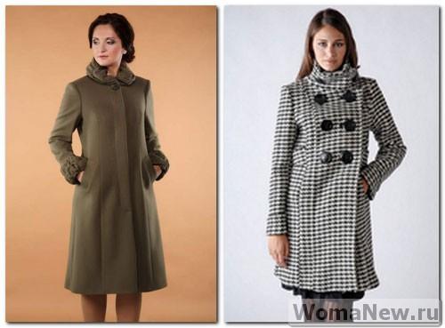 женское пальто основа