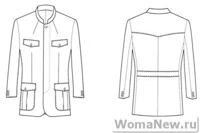 пиджак для мужчин