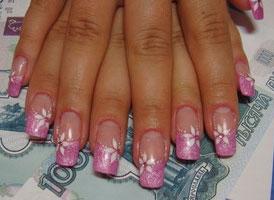 Бизнес по наращиванию ногтей на дому.