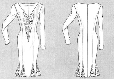 платья-годе
