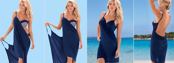Сшить пляжное платье своими руками быстро и без выкройки 419