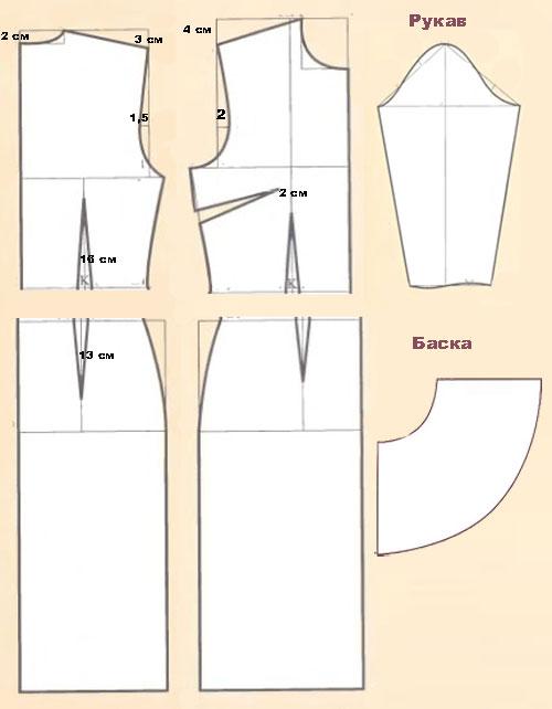 выкройка-платье-с-баской