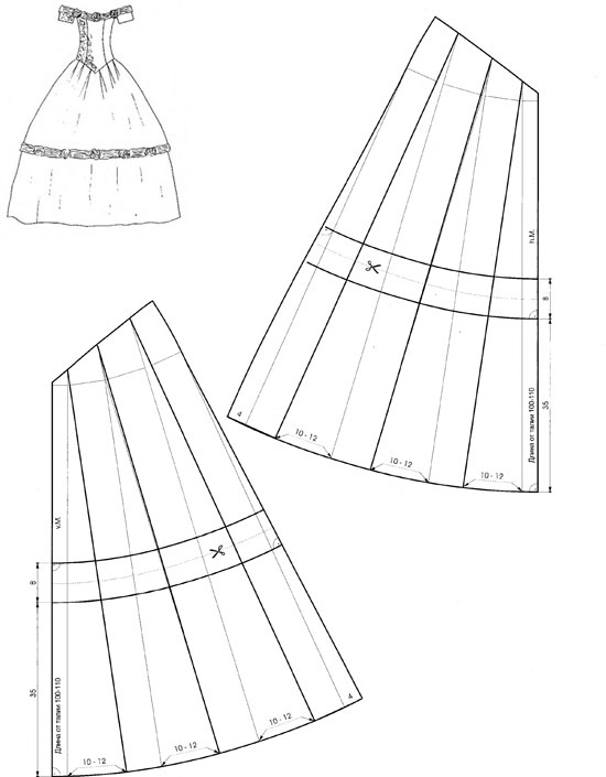 низ-платья