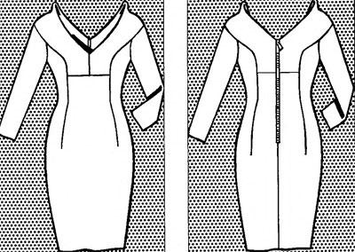 схема-платье