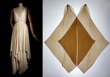 простая выкройка греческого платья