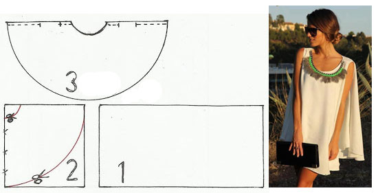 Выкройка туники без выкройки фото 945