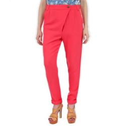 брюки с асиметричной застежкой