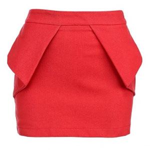 Выкройка модной юбки.