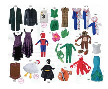 костюмы для всей семьи