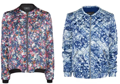 принты женские куртки 2014