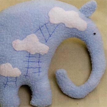 Выкройка слона, мастер класс.