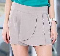 Выкройка юбка шорты.