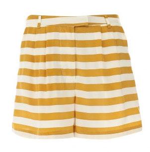 юбка шорты в полоску