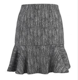 Красивейшая выкройка юбки «четвертьсолнце».