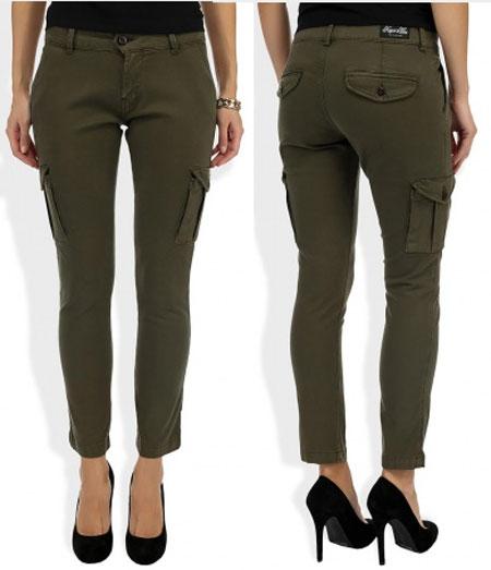 брюки милитари
