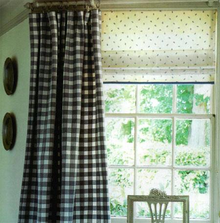 простые шторы