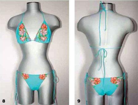 cómo coser el traje de baño separado