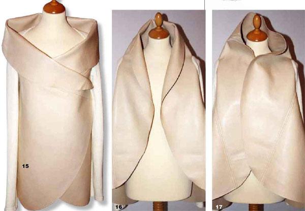 как сшить куртку из кожи