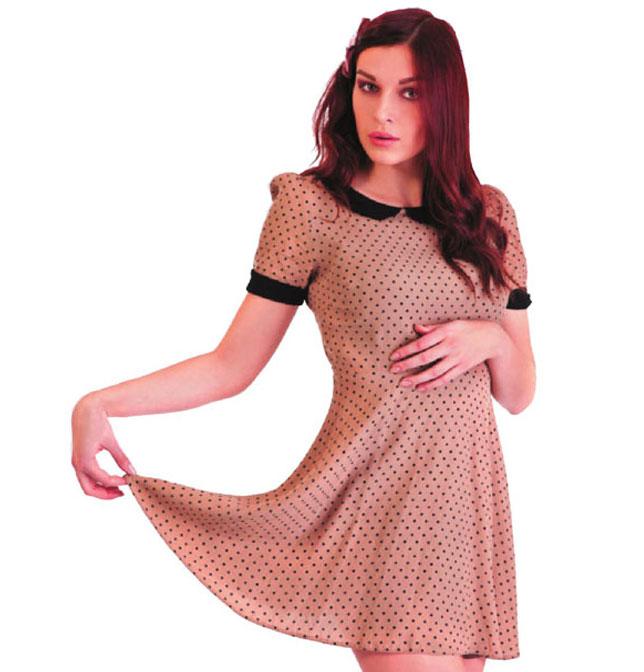 Выкройка для летнего платья с воротничком.