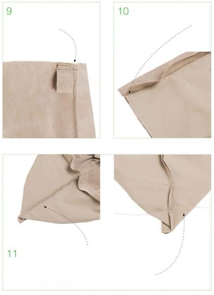 как сшить клатч сумочку