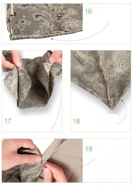 Сшить клатч на подкладке