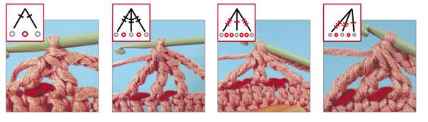 фото уроки столбики вязание