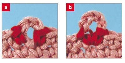 уроки вязания крючком пико