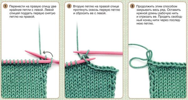 закрытие петель Womanewru уроки кройки и шитья
