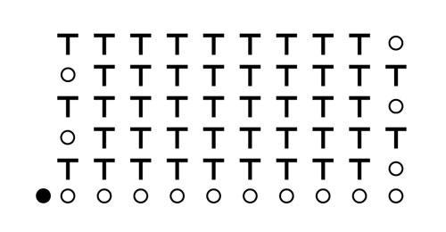 схема столбик