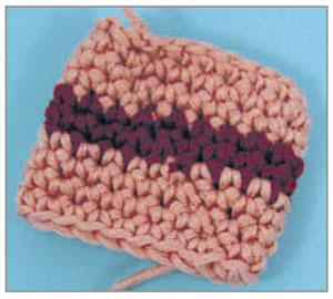 шов вязание трубой