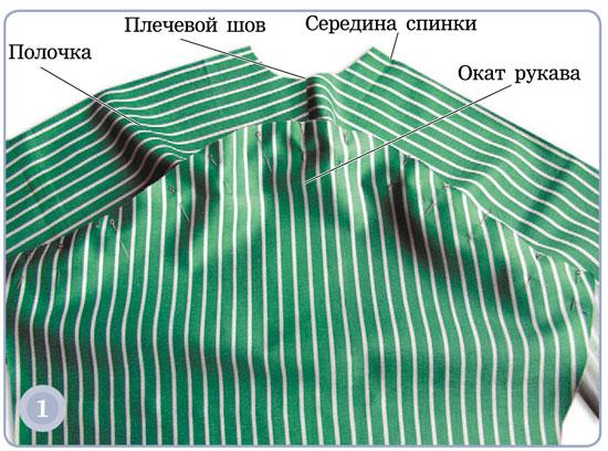 обработка рубашечного рукава