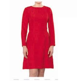 Выкройка платья с длинным рукавом.
