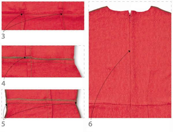 как сшить платье с рукавами