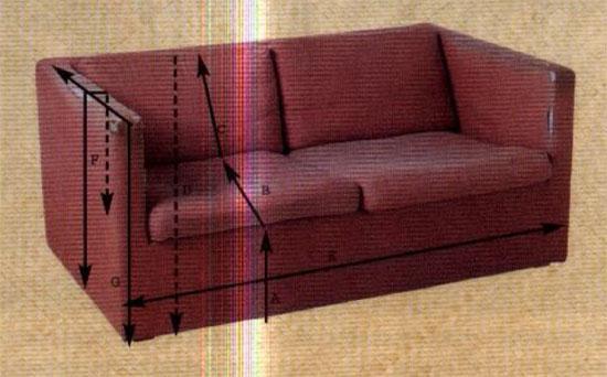 чехлы на диван сшить своими руками