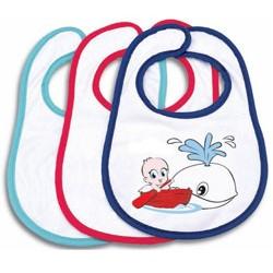 Выкройка слюнявчика для ребенка.