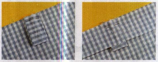 шитье штор на петлях
