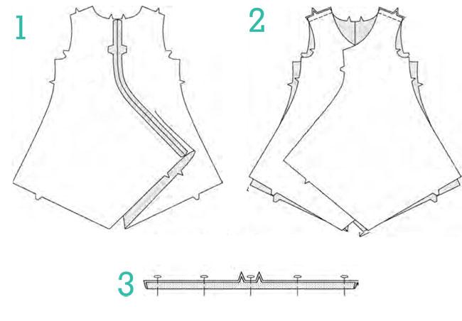 выкройка блузы