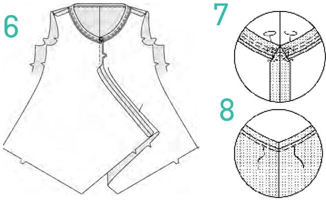 простая блузка как сшить