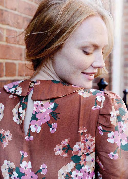 блузка ретро стиль