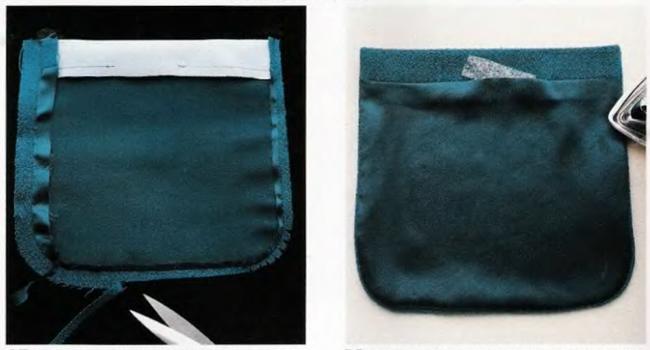 как притачать накладной карман