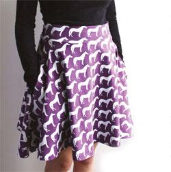 юбка полусолнце с карманами