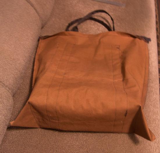 сумка изнутри