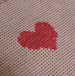 Как научиться вышивать крестиком, видео